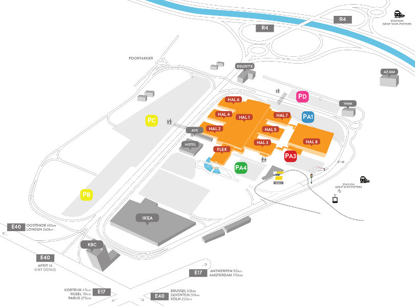 FExpo plan parking route goods