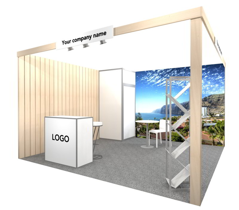 example fully furnished stand