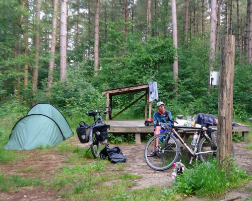 What can be improved on camping sites? A lot, according to Bert Sitters in his IBTC presentation