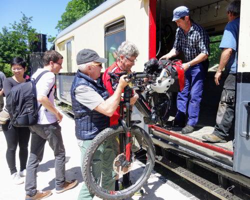 La Dolce Via: co-operation with a vintage steam train