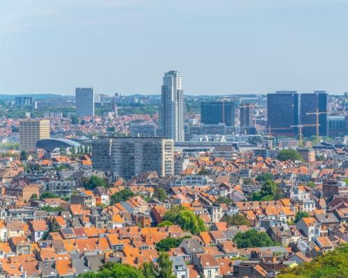 Een van de presentaties op de IBTC ging over Brussel, dat in een echte fietsstad verandert