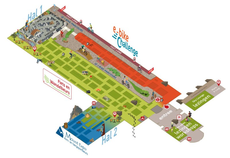 plattegrond Gent 2020